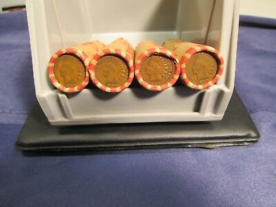 UnsearchedWheat penny rolls with a Indian Head penny on end over 20,000 sold