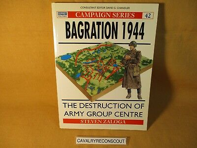 Book 'Bagration 1944' by Steven Zaloga Osprey Campaign Series #42