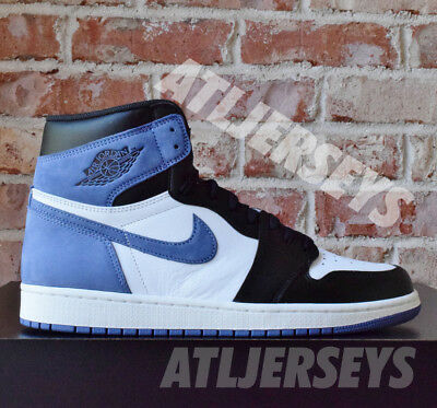515281b47f2 NIKE AIR JORDAN 1 Retro High OG Blue Moon Best Hand Size 555088-115 ...