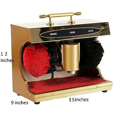 Automatic Electric Shoe Polishing Machine Buff Polisher Polish Shining Cleaner