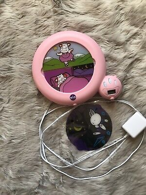 Kid'Sleep Classic Sleep Trainer and Night Light - Kid'Sleep Classic Pink Cow