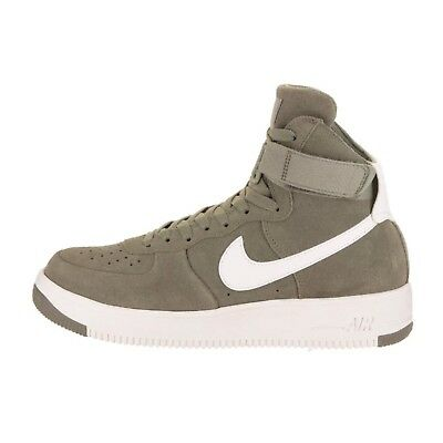 innovative design 89a27 67623 Nike Air Force 1 Ultraforce High Suede Dark Stucco White 880854 003 Shoes  Sz 8