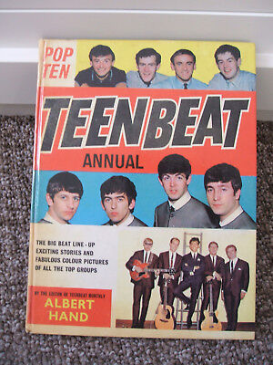Teenbeat Annual Book 1965 includes Hollies, Rolling Stones, Dave Clark 5 etc