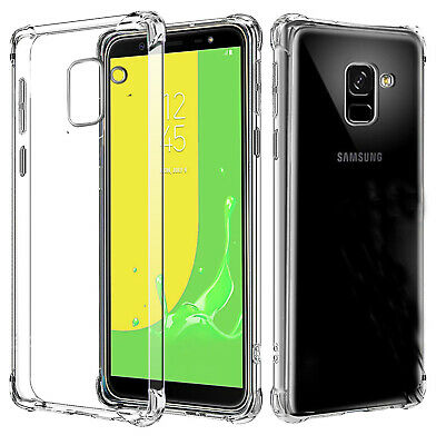 Shockproof Heavy Duty Soft Clear Case Cover For Samsung Galaxy A8 A8+ J8 2018