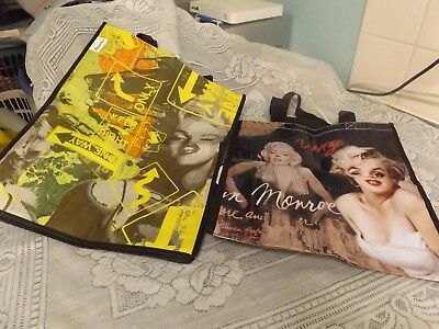 2=Lovely  Great Collectible= Marilyn Monroe Bags.         ((( Sale )))