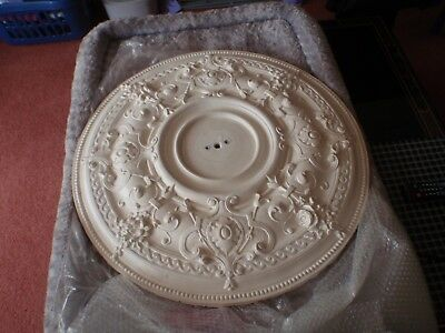 Vintage Ornate Plaster Ceiling Rose 29