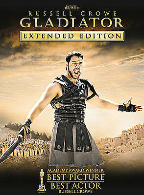 Gladiator (DVD, 2005, 3-Disc Set,Extended Edition,Widescreen,Special Features)