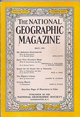 national geographic-MAY 1950-JAPAN TRIES FREEDOM'S ROAD.