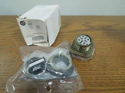 Allen Bradley 800T-N2KF4 4 Position Selector Switch Maintained Black Knob New