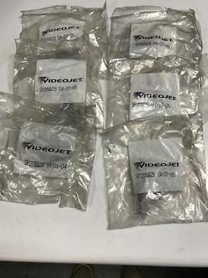 (6) VIDEOJET SP205825 Metal Ink Filter Element Stainless Mesh 205825   NEW