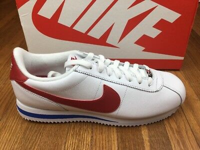884668b18091 ... where to buy nike cortez basic leather og forrest gump shoes mens sz 10  red white