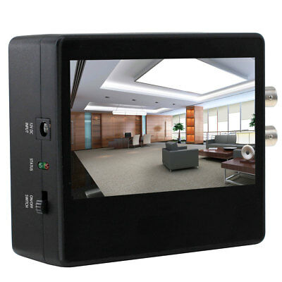 SumoSecurity 4.3 inch LCD Test Monitor for 2MP TVI, AHD, CVBS Analog Cameras