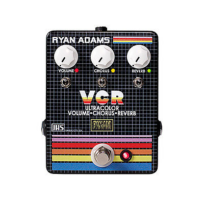 JHS Ryan Adams VCR Volume Chorus Reverb Guitar Effects Pedal Stompbox Footswitch