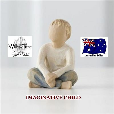 IMAGINATIVE CHILD Demdaco Willow Tree Figurine By Susan Lordi BRAND NEW IN BOX