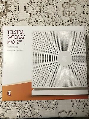 Telstra Gateway Max 2 modem router HFC conection