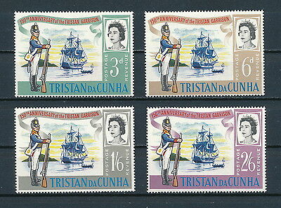 Tristan da Cunha  95-8 MNH, Soldier and Ship, 1966