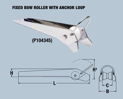 MAXWELL Fixed Bow Roller with Anchor Loop P104345