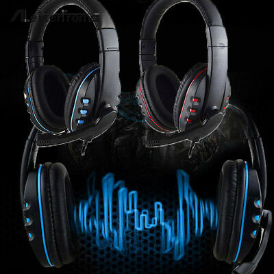 3.5mm Surround Stereo Pro Gaming Headset Headband Headphone With Mic for PC PS4