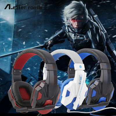 Overhead Stereo Headset Adults Kids Gaming Headphone For PS4/PS3/PC