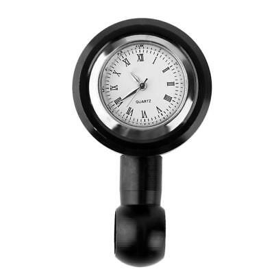 Universal Motorcycle Bike Handlebar Dial Clock Watch Bracket Mount Waterproof