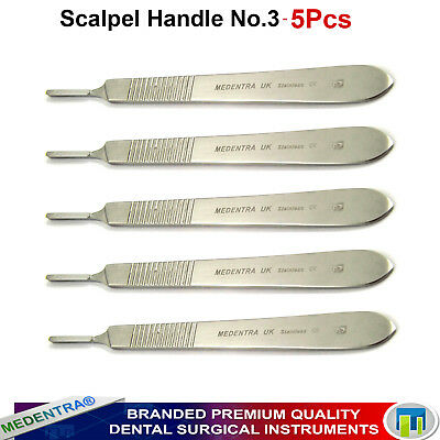 Scalpel Handle No.3 Stainles Steel Dissecting Medical Surgical Veterianry Tools