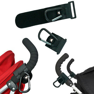 1pc PRAM HOOK Baby Stroller Hooks Bag Clip Carrier Pushchair Hanger Metal Clips