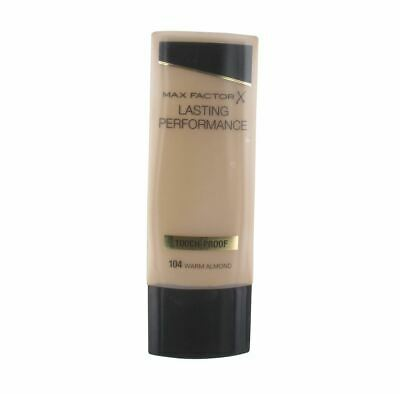 Max Factor Lasting Performance Foundation 35ml - Warm Almond #104 -New