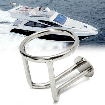 Boat Marine RV Car Yacht Cup Drink Bottle Holder Camper Ring 316 Stainless Steel