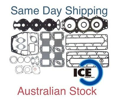 New Powerhead Gasket Set Kit Yamaha 75 80 85 90 HP Outboard 688-W0001-02