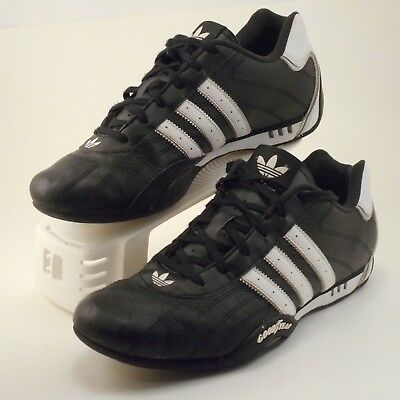Mens Adidas Adi Racer Low Goodyear racing black leather shoes sneakers size  8.5 fa45042ae