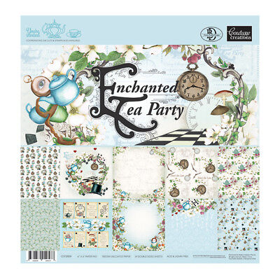 6x6 Couture Creations Enchanted Tea Party Paper Pad