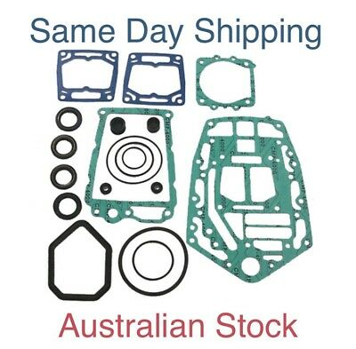 New Yamaha Lower Unit Gearcase Gearbox Gasket Seal Kit V6  6G5-W0001-21
