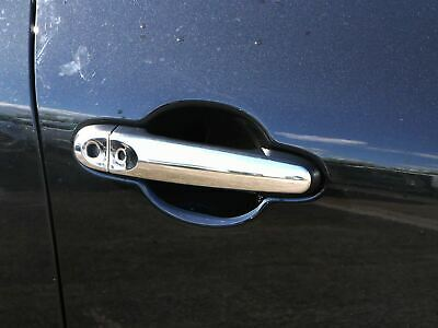 Chrome 4 Door Handle Covers Trim Set Stainless Steel Handles Nissan Juke [I-Key]
