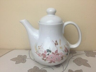 Boots Hedge Rose Large Tea Pot 2 Pint Superb Condition