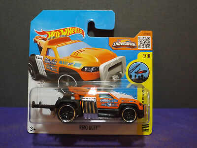 HOT WHEELS 2014 HW CITY REPO DUTY COLOR VARIATION FACTORY SEALED