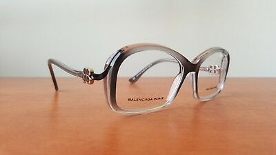 0a0283ce4ed89 Authentic BALENCIAGA PARIS BAL 0059 Hand Made Acetate Eyeglasses Frames -  Italy
