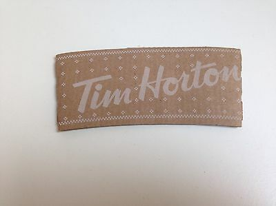 TIM HORTONS Paper Cup Sleeve WINTER STITCH Design, Collectible