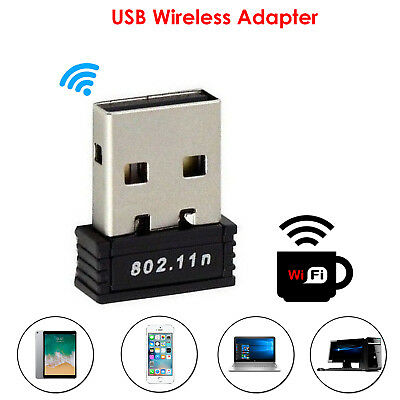 Mini USB Wi-Fi Adapter 150Mbps Dongle Wireless Connector for PC Laptop Desktop