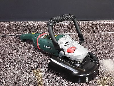 "SASE 7"" SC70 Metabo Hand Held Diamond Grinder W/ Convertible Shroud & Cup Wheel"