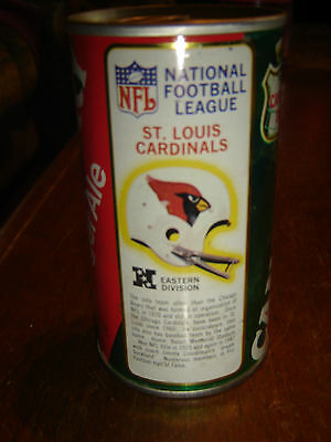 NFL St. Louis Cardinals Helmet Canada Dry Empty Straight Steel Soda Pop Can