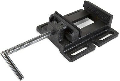 4 In. Drill Press Vise WEN Table Top Holding Jaw Clinch Wood Metal Grip Holder
