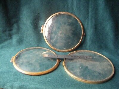 Tyree Vintage or Antique Mante clock glasses and bezels
