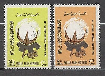 Syria - Air Yvert 316/7 Mnh Festival of the cotton