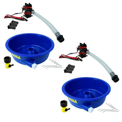 Blue Bowl Concentrator Kit Dual Pack with Pump, Battery Clips, Leg Levelers