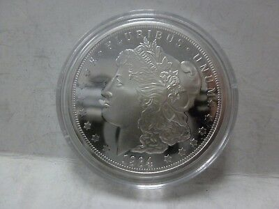 1964 Proof-like Morgan Dollar  $1.- 2018 Cook Islands Tribute Coin
