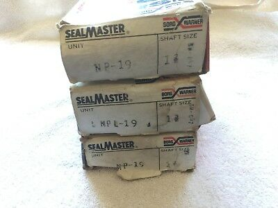 "Sealmaster NP-19 1-3/16 Pillow Block Ball Bearing, 1-3/16"" Bore (Make Offer)"