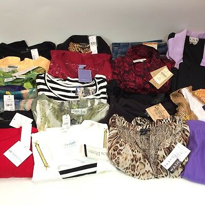 Lot 20 Pieces Womens Wholesale Reseller Clothing Lot NWT PLUS SIZE XL UP