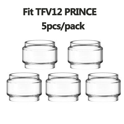 5pcs - SMOK TFV12 Prince 8ml Extended Replacement Bulb Glass  - (Ship from USA)