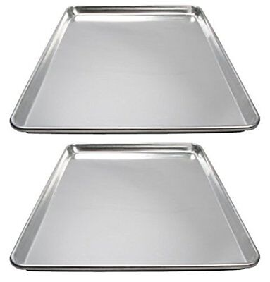 Winware ALXP-1826 Commercial Full-Size Sheet Pans, Set of 2 (18-Inch x 26-Inch,