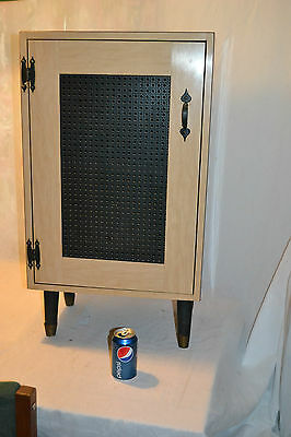 Vtg 78 rpm Shellac Record Holder wood Cabinet Phonograph Gramophone Acoustic
